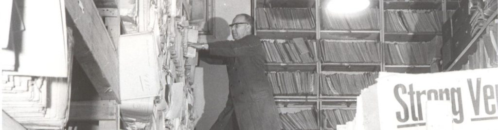 What happened in wartime, stays in the archive?