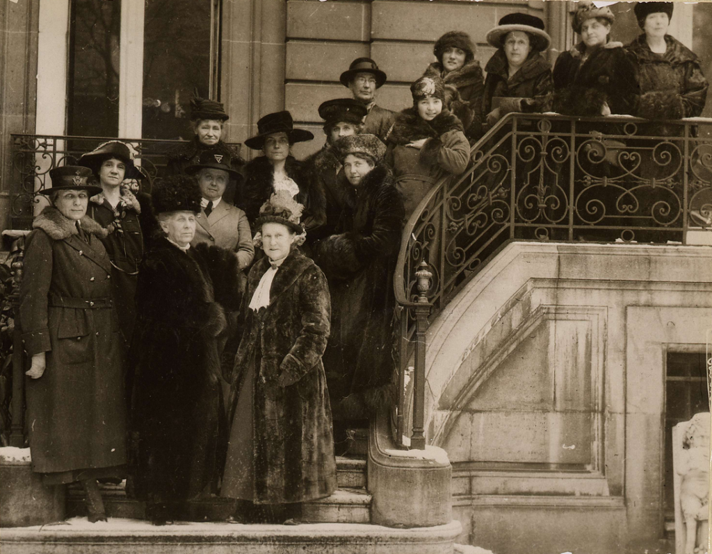 The Inter-Allied Women's Conference as a response to Paris Peace Conference
