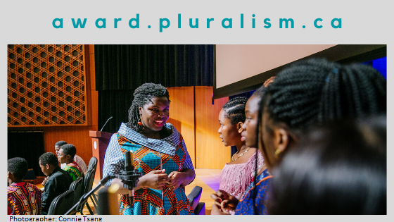 Help Us Find the Next Global Pluralism Award Winners! Submissions now being accepted for the 2021 Awards