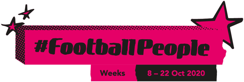 Join the #FootballPeople weeks movement!