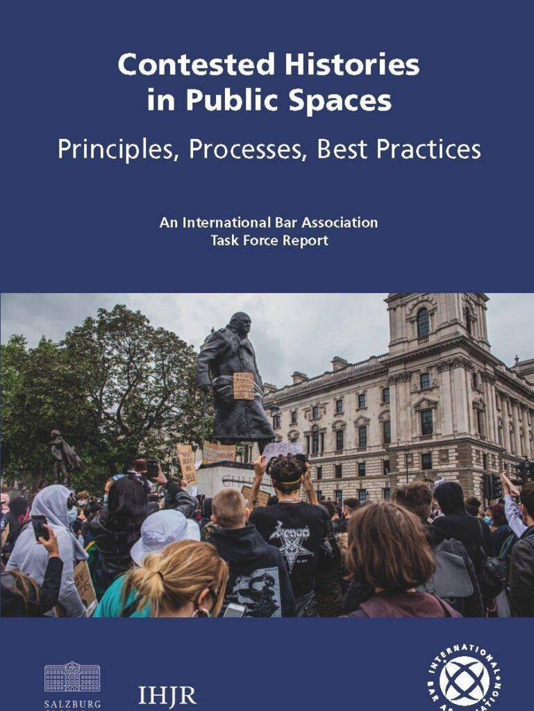 Virtual book launch: Contested Histories in Public Spaces