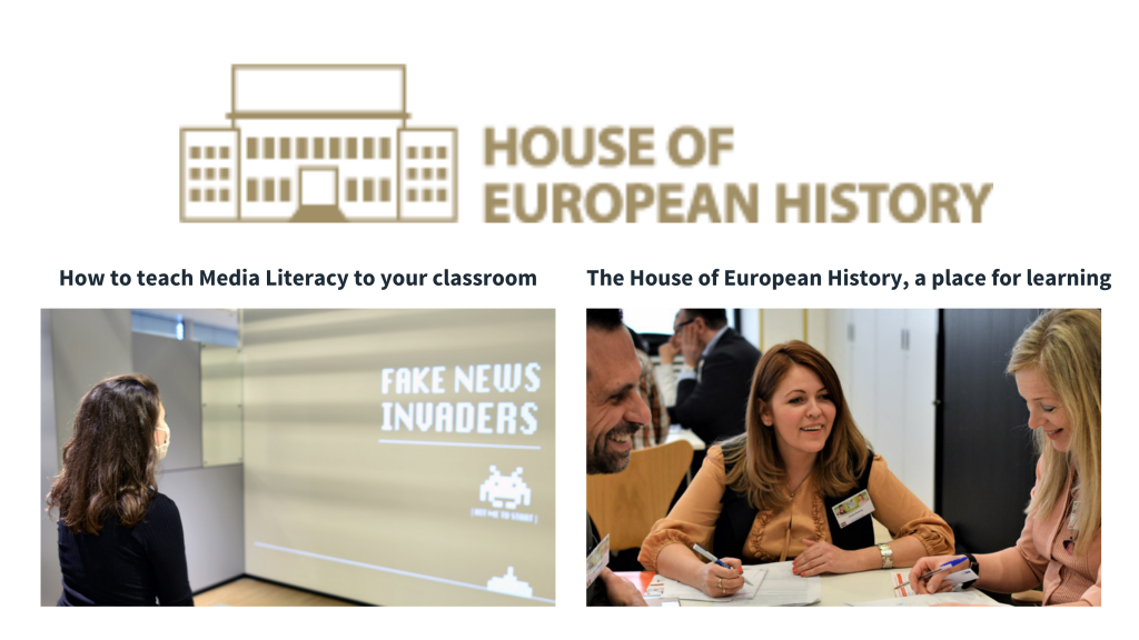 House of European History: Online Sessions for Teachers