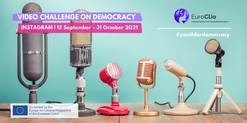 EuroClio launches an Instagram video challenge on Democracy