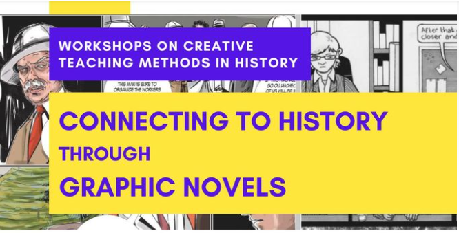 Online Workshop 25 September: Connecting to History through Graphic Novels