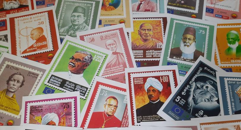 A concise piece of history - a blogpost on the workshop on stamps of the 'History that Connects - Sri Lanka' initiative